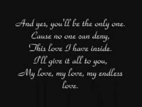 Lionel Richie Diana Ross My Endless Love Lyrics My Love Song Love Songs Lyrics Lyrics