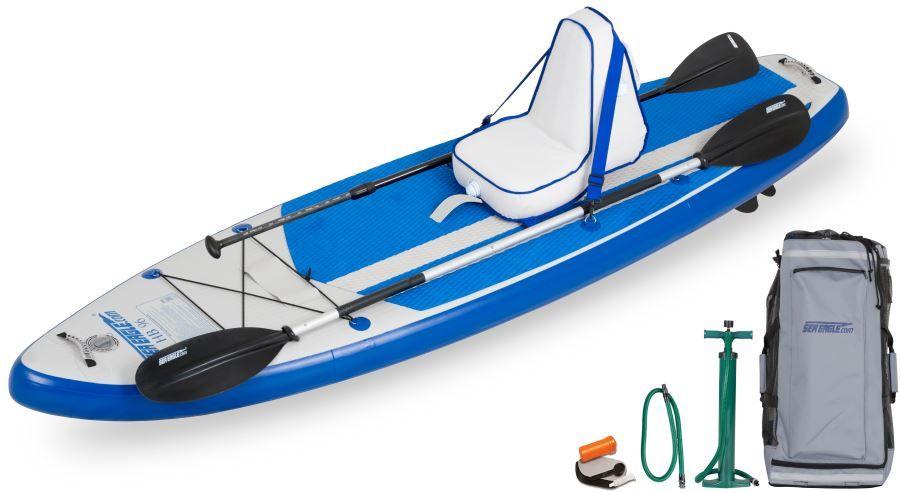 Seaeagle Hb96 Deluxe Package Sup Stand Up Paddeling Board Sea Eagle Boote Kajak Kanu Elektromotor Bei Beachandpool De Online K Paddel Kajak Kajak Wagen