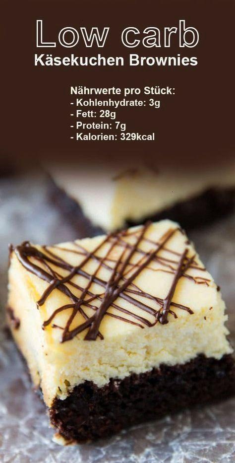 carb Käsekuchen Brownies    Low carb Käsekuchen Brownies – Low carb Käsekuchen Brownies