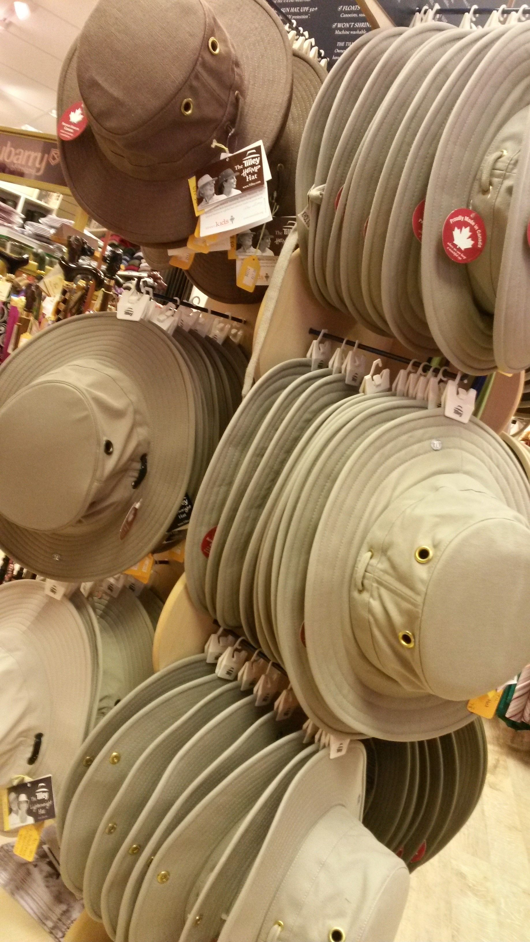 Is your Dad a bit of an Indiana Jones? Does he enjoy globetrotting? Or does he just prefer pottering in the garden? Tilley hats are a design classic for all sorts of outdoor adventures, and we've got a great range - from breathable hats for hot weather to ones that even repel insects! Available online or in-store from Luck of Louth.