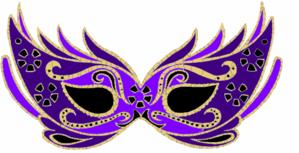 purple masquerade mask clip art fashion and design pinterest rh pinterest com masquerade clip art free masquerade clip art images