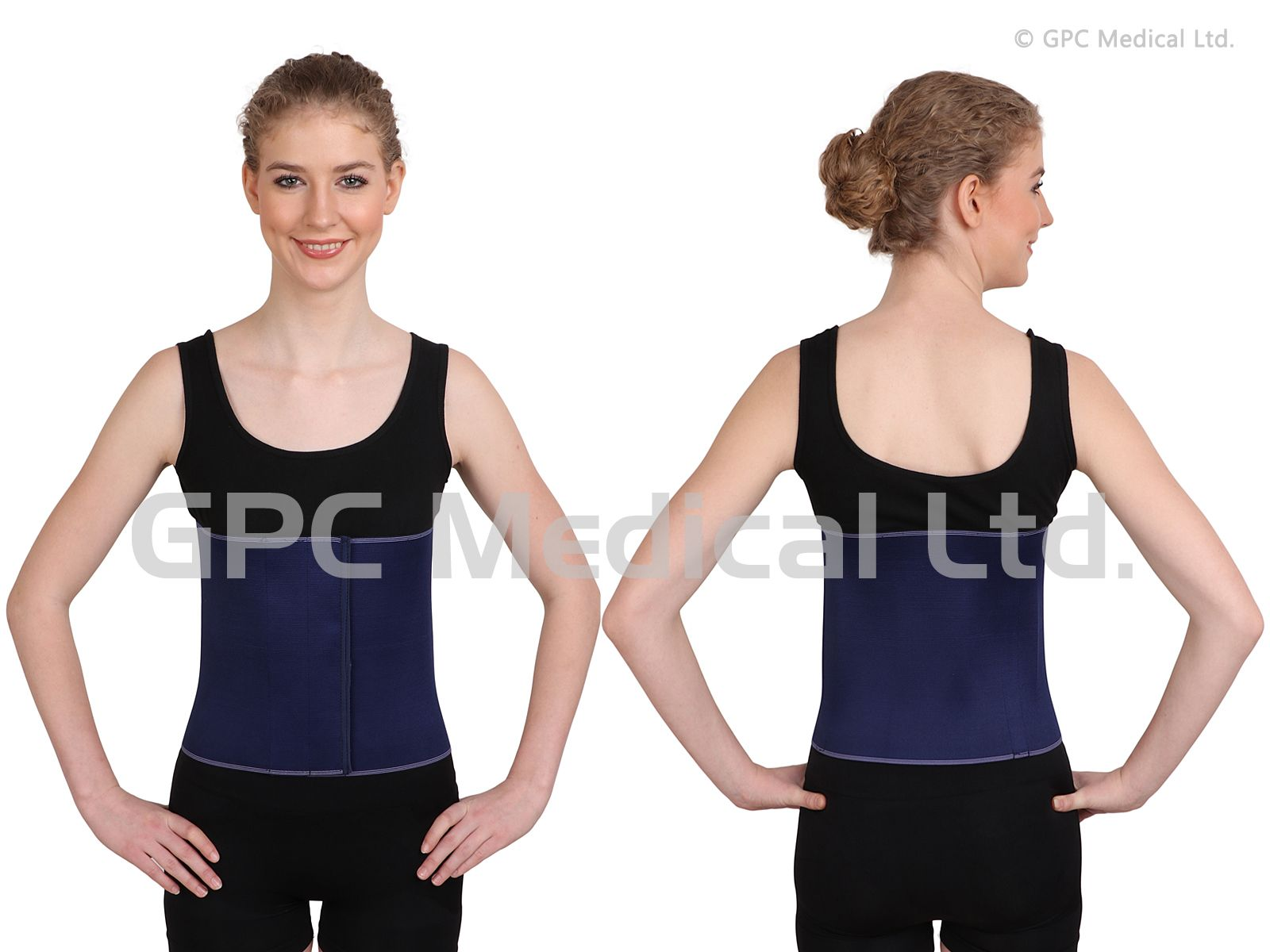 """Abdominal Support 10"""" Model No. AS101a.10 Sizes Available"""