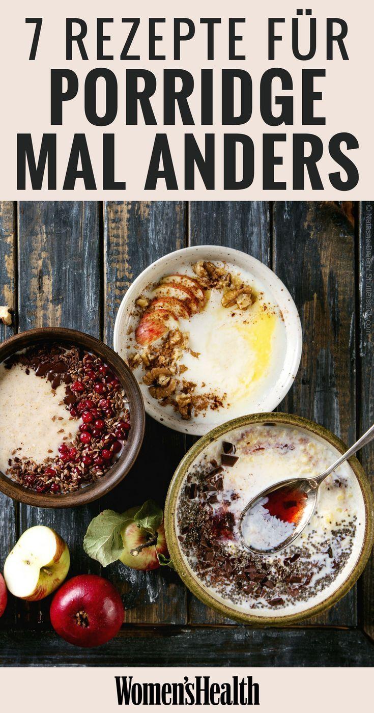 7 außergewöhnliche Porridge-Rezepte #gesundesessen