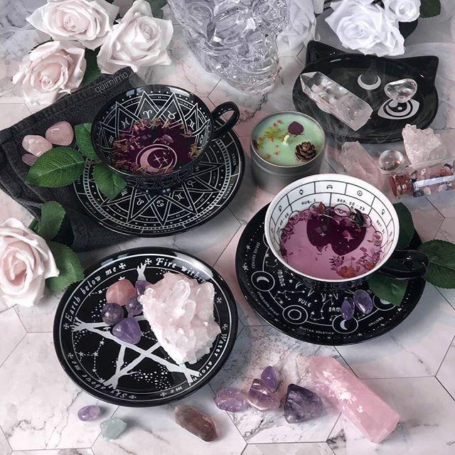 Cosmic Tea Cup & Saucer