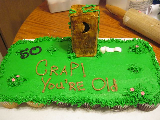 Think I'm gonna make this for Bruce Tomorrow...I think the outhouse can be made from graham crackers : )