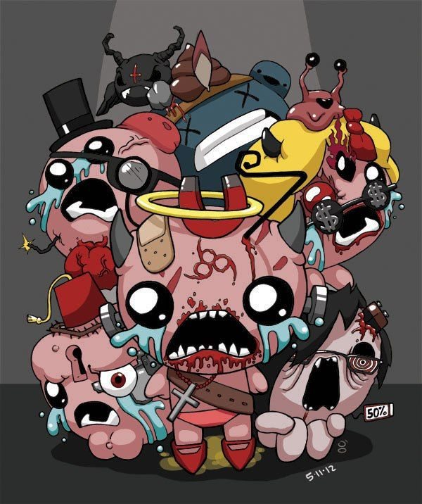 Image Jpg 600 716 The Binding Of Isaac Isaac Art