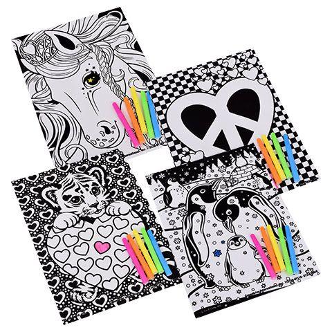 Emoji Velvety Art Coloring Sets, 2-ct. Packs | Lisa Frank ...