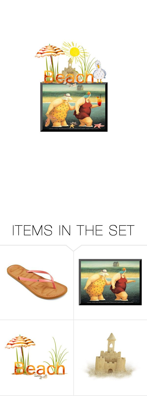 """""""Peach Beach Challenge Contest"""" by theonly-queenregina ❤ liked on Polyvore featuring art"""