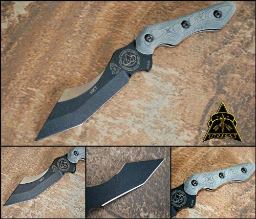 TOPS HKT Hunter Killer Tracker Knife HKT-01 - Mobius Training Solutions -- Insider's special review you can't miss. Read more  : Camping Supplies