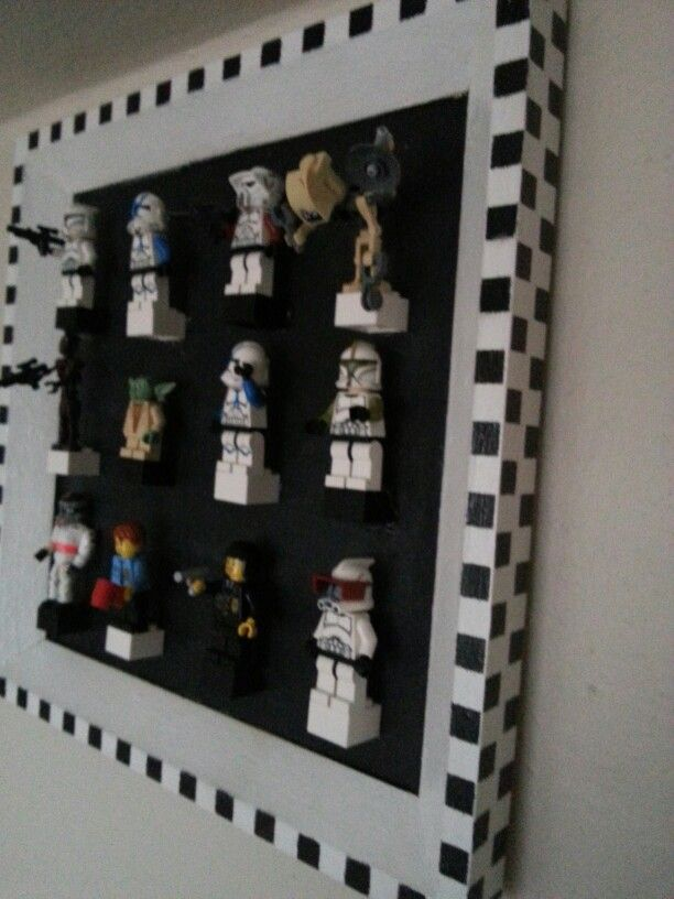 Lego minifigure display-2