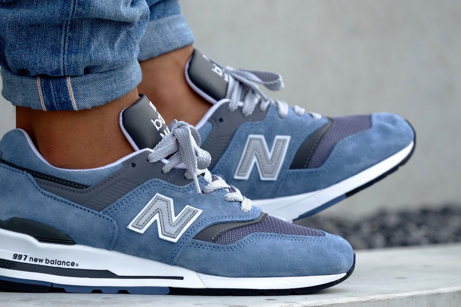 New Balance Blue/ Grey sneaker - 8996927243