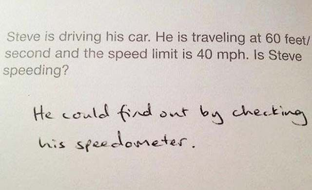 Funny Test Answers From Smart Ass Kids Borderline Genius Funny - 16 smart ass kids who are clearly going places