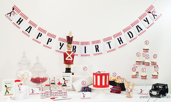 Royal Guards-Party by www.partyerie.de  #printable #birthdayparty