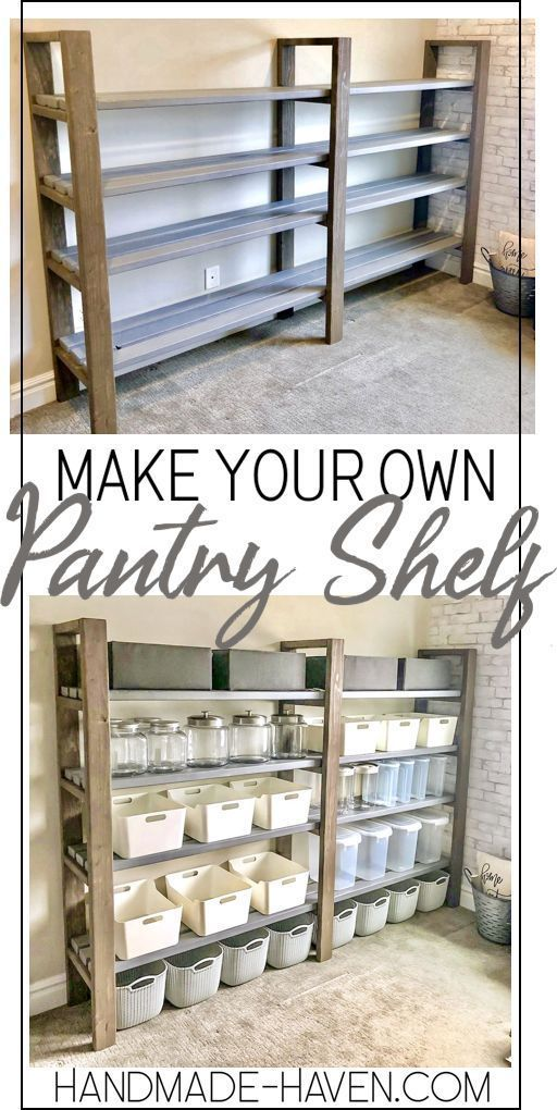 Photo of DIY Pantry-Regal
