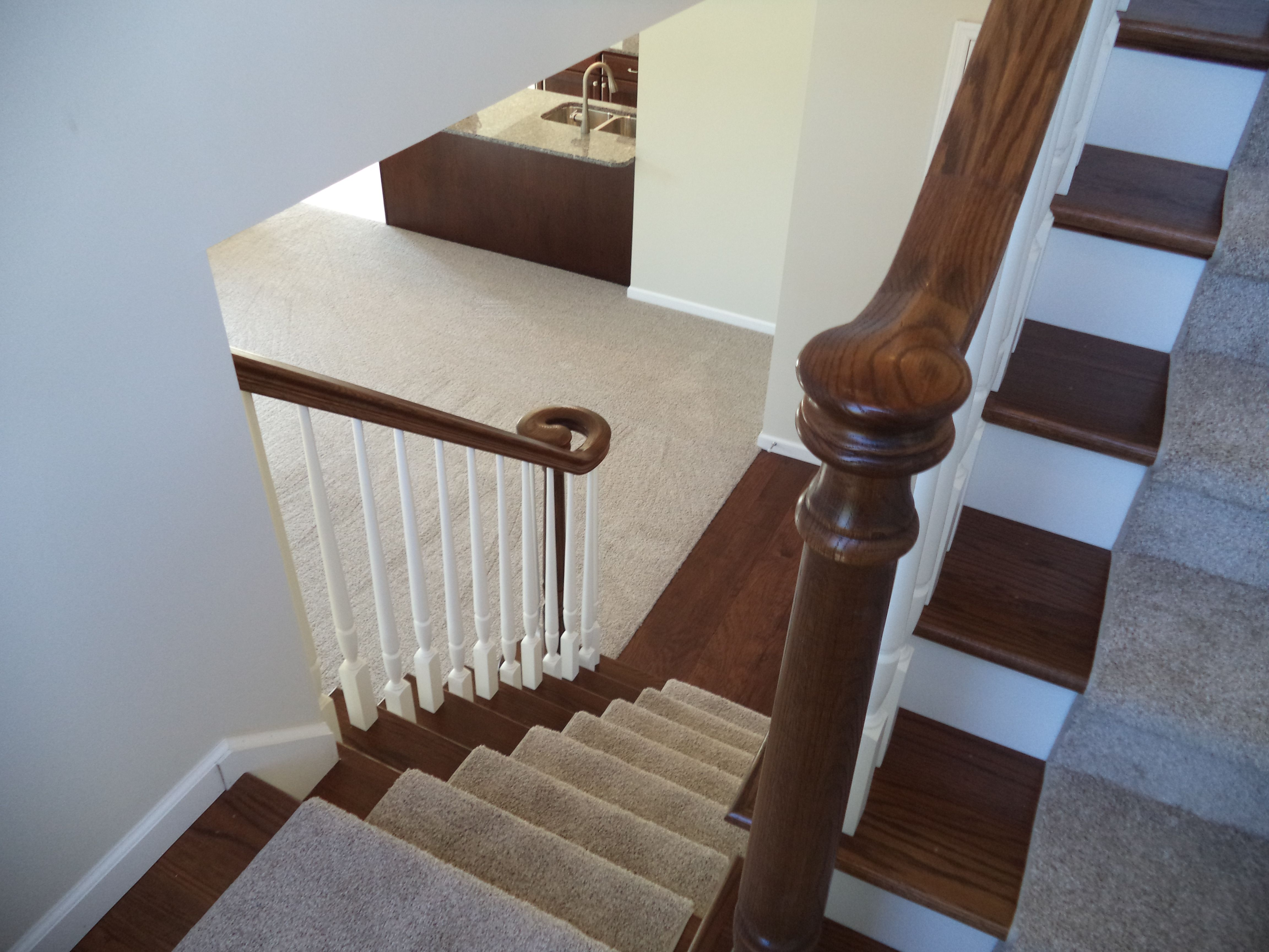 Best Stairs Shown With Partial Carpet 15 81 Stairs House 400 x 300