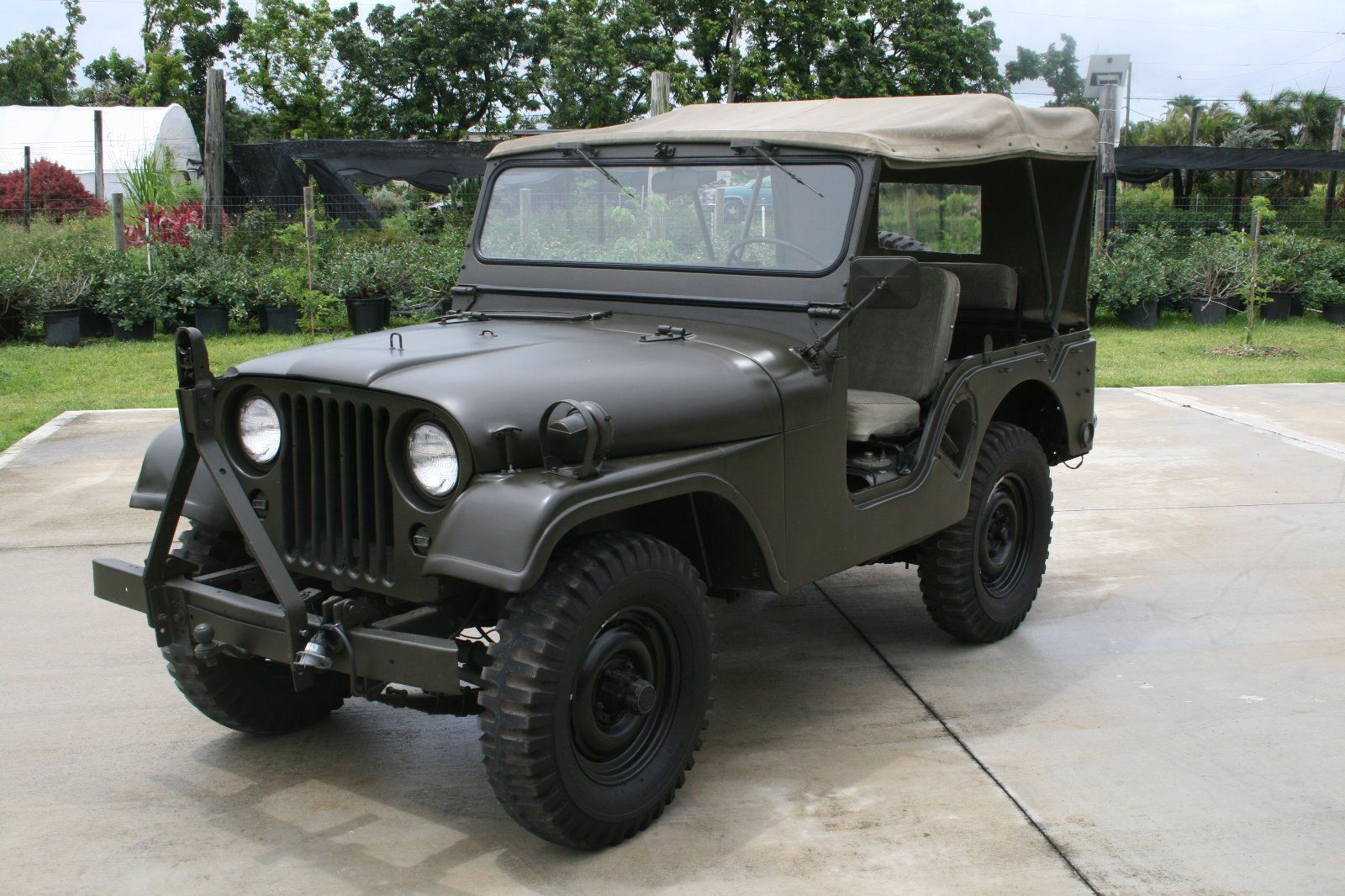 movie car 1953 willys jeep m38a1 military [ 1600 x 1066 Pixel ]