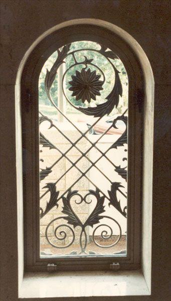 decorative windows for houses bronze window window guards - Decorative Windows