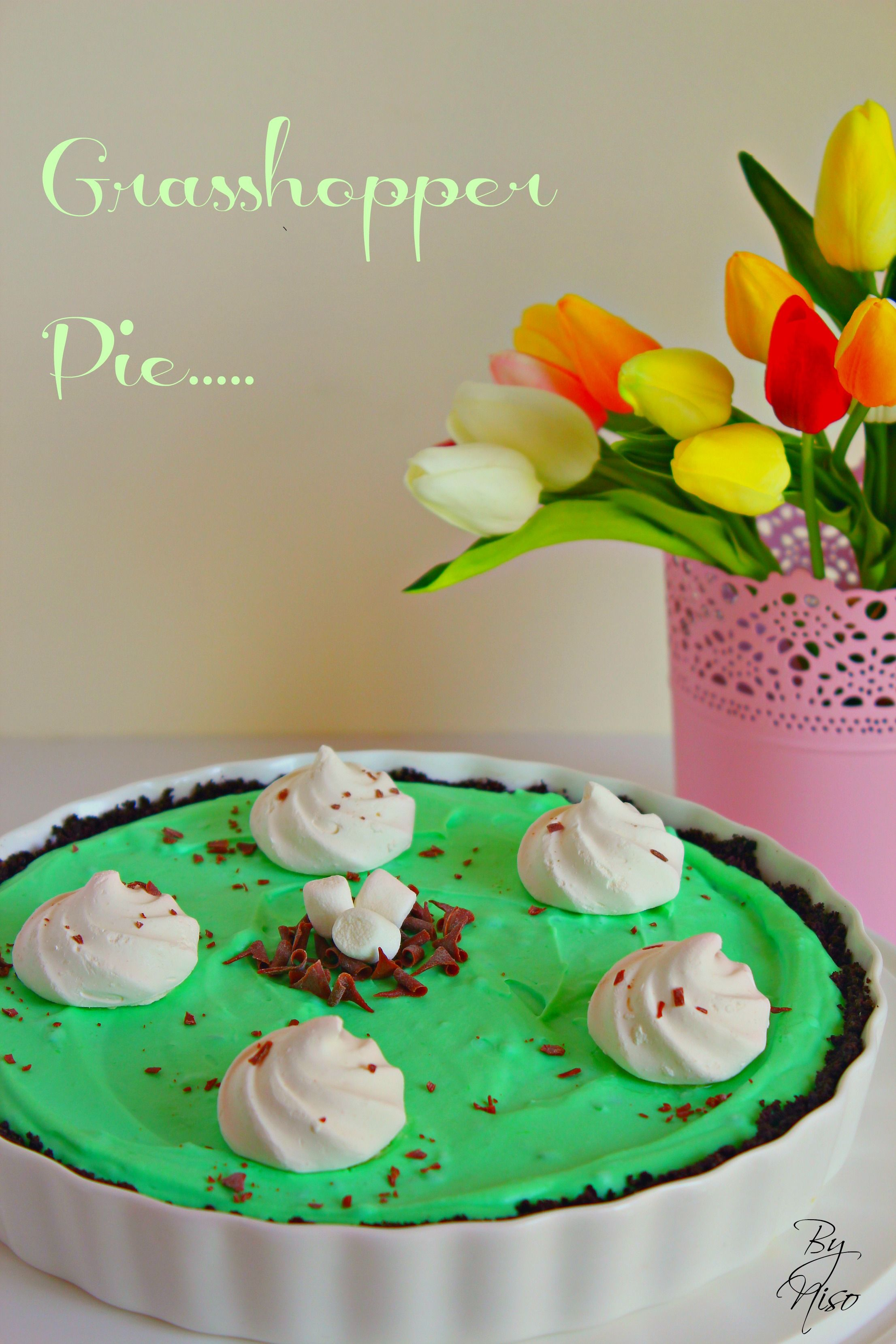 Grasshopper Pie Grasshopper Pie Desserts Cake