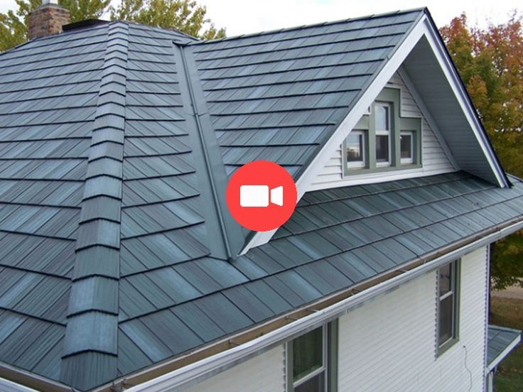 Best Steel Roofs Arrowline Roofing Steel Shingles Edco 400 x 300