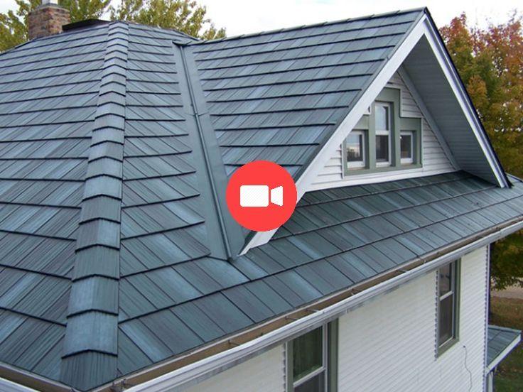Best Steel Roofs Arrowline Roofing Steel Shingles Edco 640 x 480
