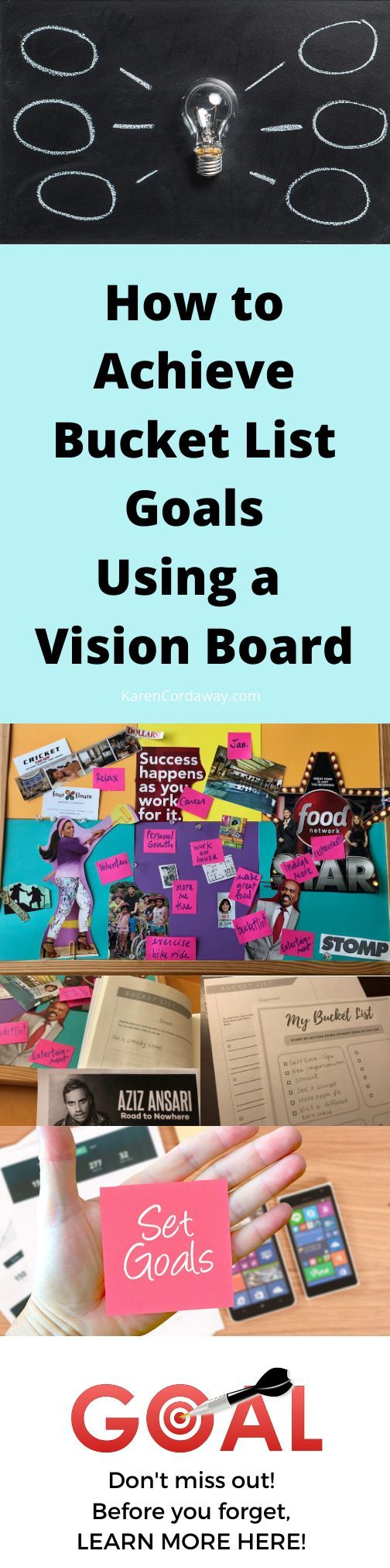 How to Achieve Goals Using a Vision Board (DIY)