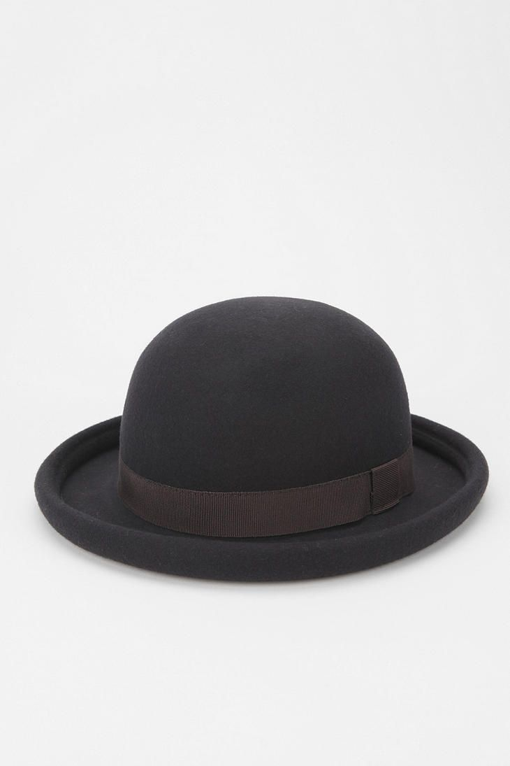 05f62233791ec The Bowler Hat is a hard felt hat with a rounded crown originally created  in 1849.