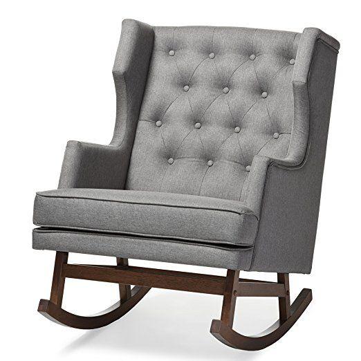 baxton studio iona mid century retro modern fabric upholstered rh pinterest com