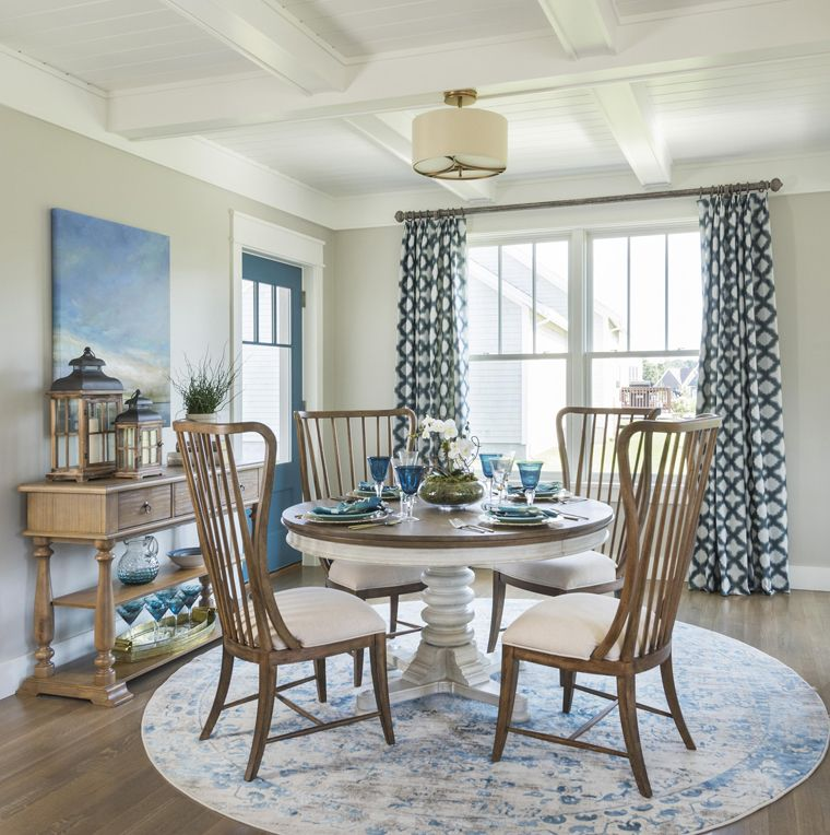 dining room with blue accents dining rooms pinterest 2017 rh pinterest com