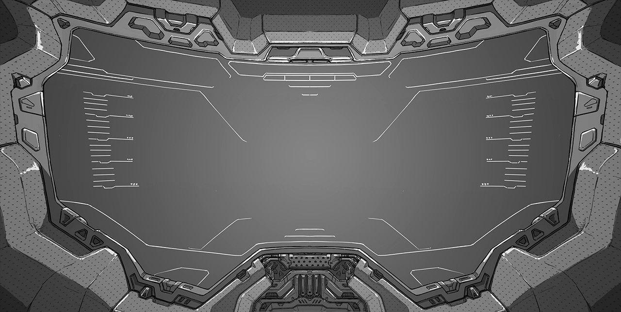 cac13b4b775 John-117 Visor HUD | Halo | Halo 5, Halo, Interior concept