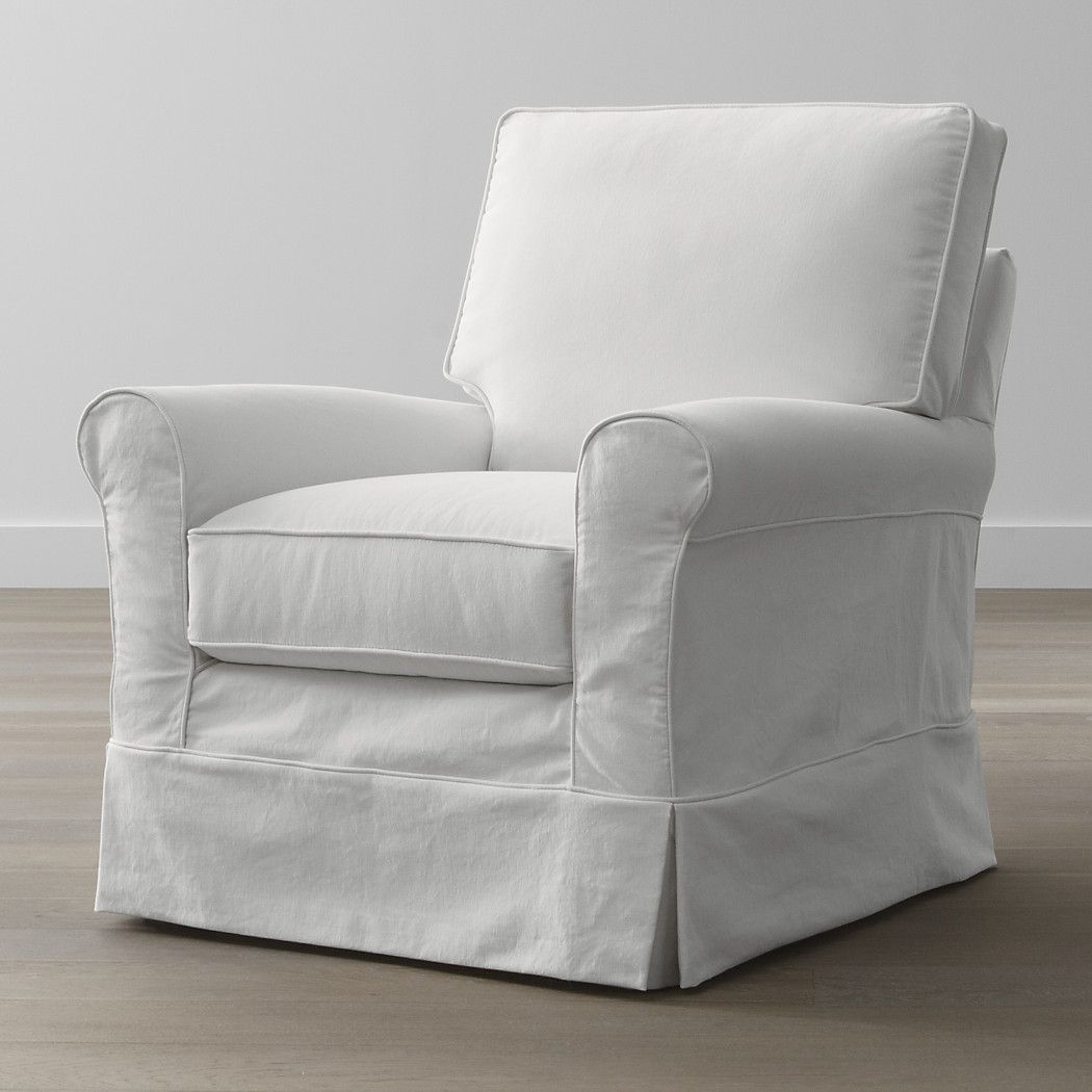 hathaway slipcovered swivel glider clever home ideas slipcovers rh pinterest com