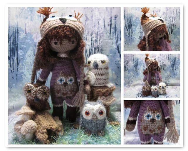 By Hook, By Hand: Lalylala   Amigurumies   Pinterest   Muñecos de ...