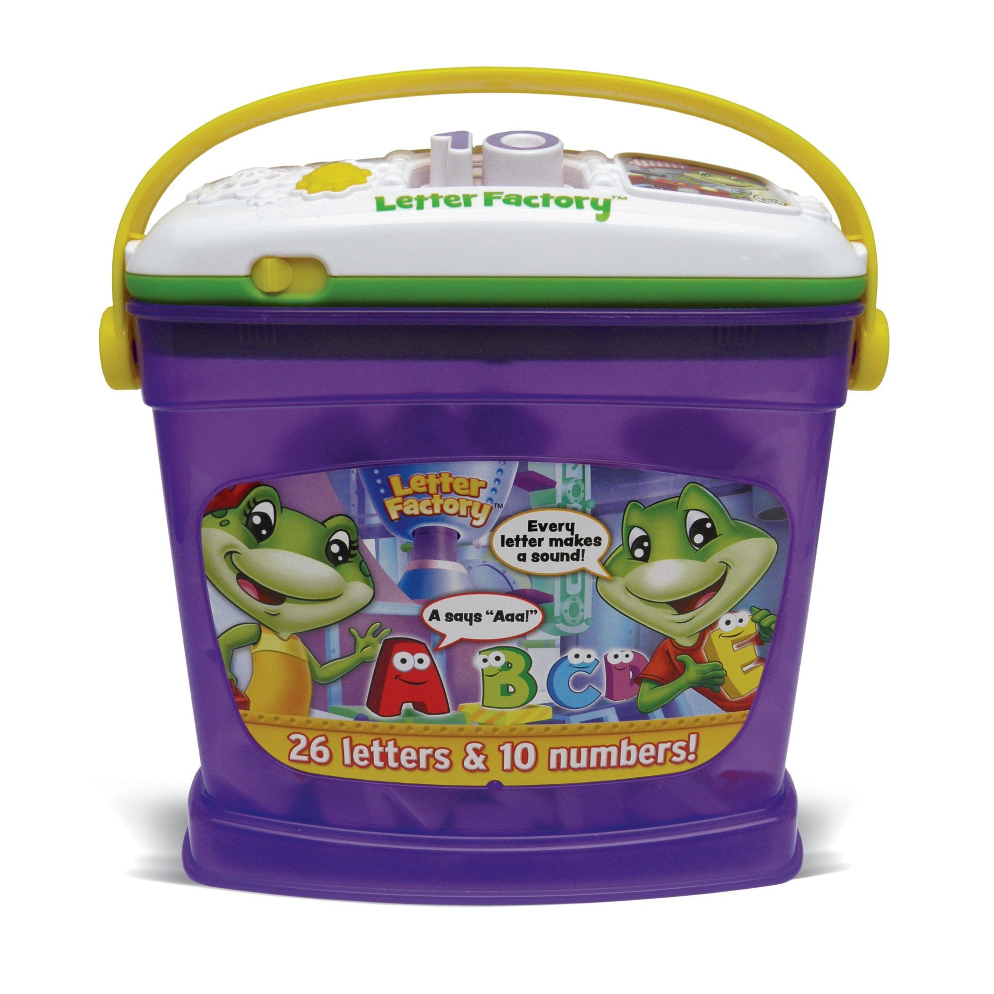 PORTER LeapFrog Letter Factory Phonics and Numbers: Toys & Games