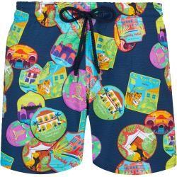 Photo of Costumi da bagno uomo – Costumi da bagno elasticizzati da uomo Indian Resorts – pantaloncini da bagno – moorise – blu – M – Vil