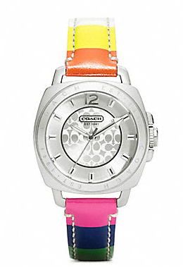 STYLEeGRACE ❤'s this Coach Watch!