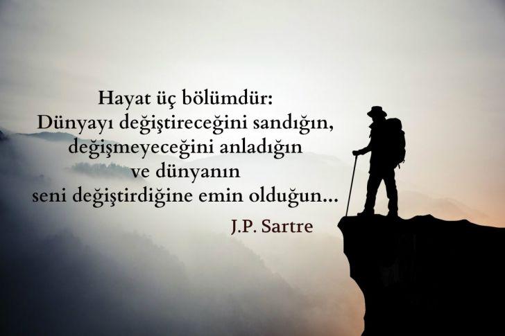 Jean-Paul Sartre Tarafından Söylenmiş Varlığınızı Sorgulatacak 15 Söz
