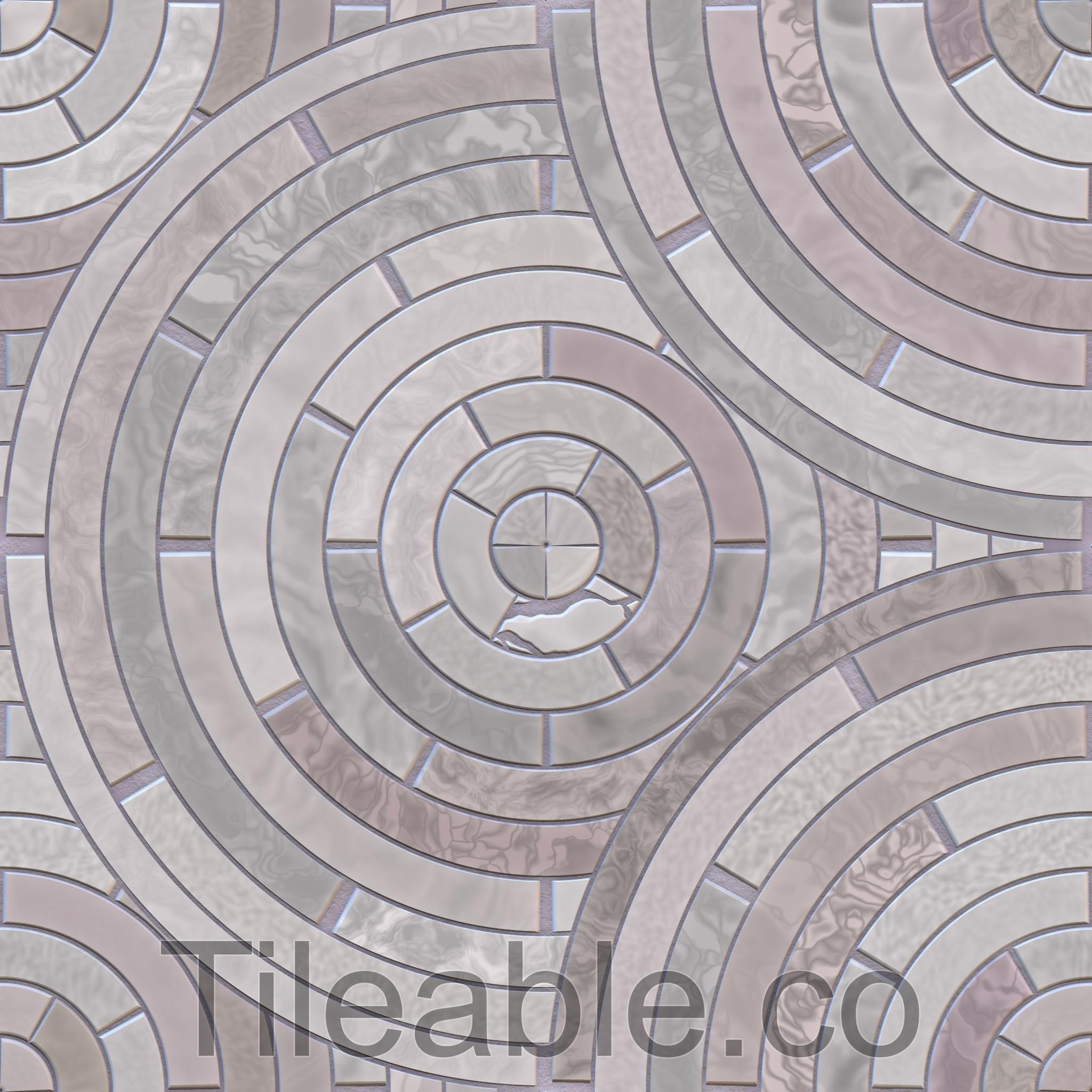 Circular Floor Tiles Tile Floor Floor Tile Design Flooring
