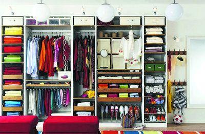 ordnung im kleiderschrank 6 geniale beispiele haus. Black Bedroom Furniture Sets. Home Design Ideas