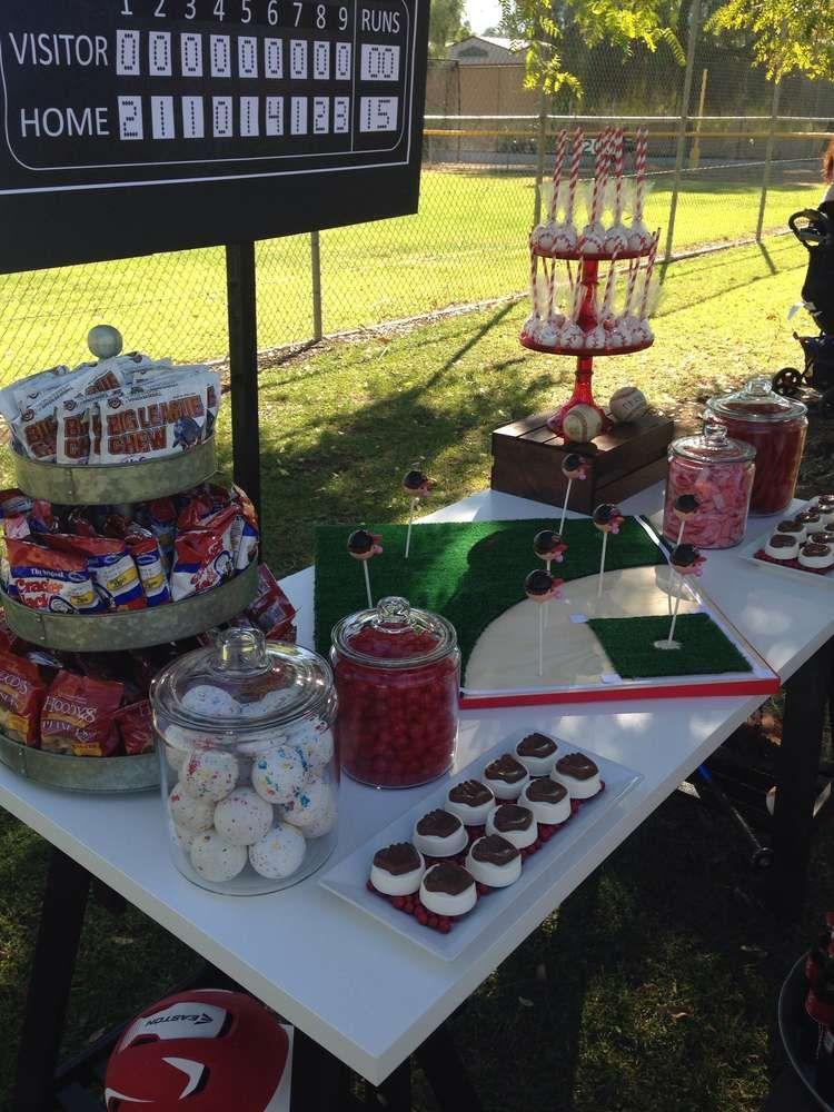 indians baseball candy buffet baseball closing ceremony party ideas rh pinterest com