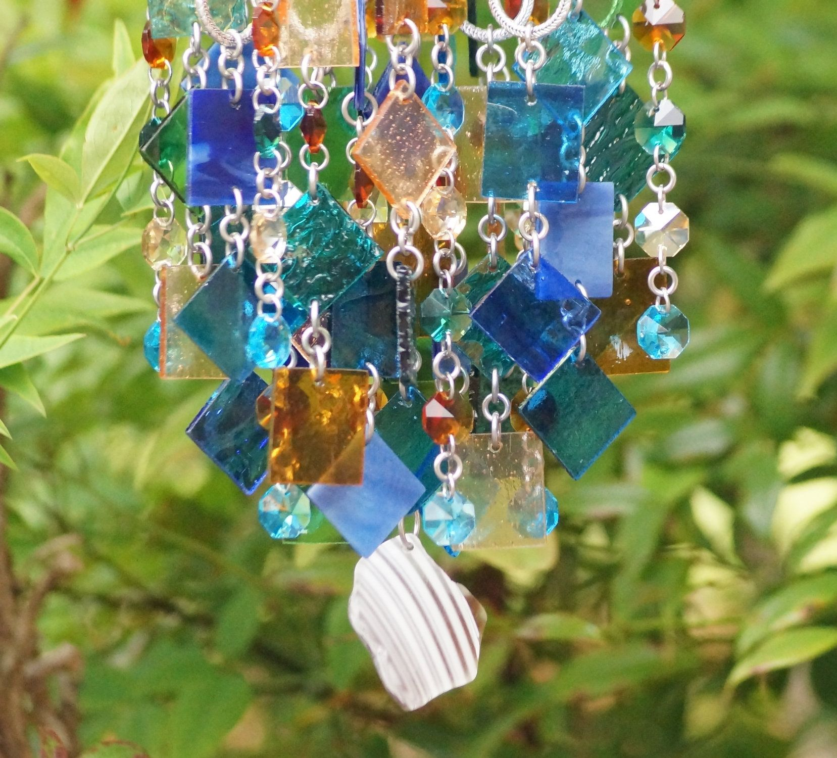 Unique Suncatcher Wind Chime Kaleidoscope OOAK Gift