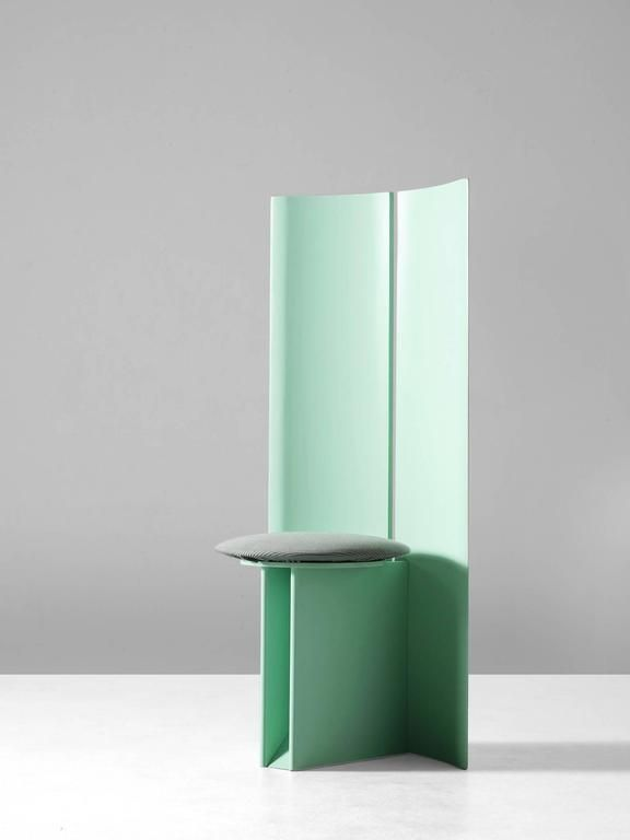 memphis style high back chair great furniture design high back rh pinterest com