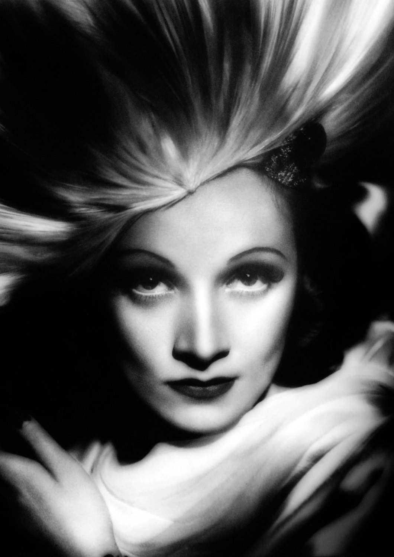 Marlene Dietrich Monochrome Graphic Print 04 A4 Size 210mm X