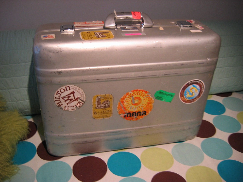 Vintage Zero Halliburton Suitcase Large 21