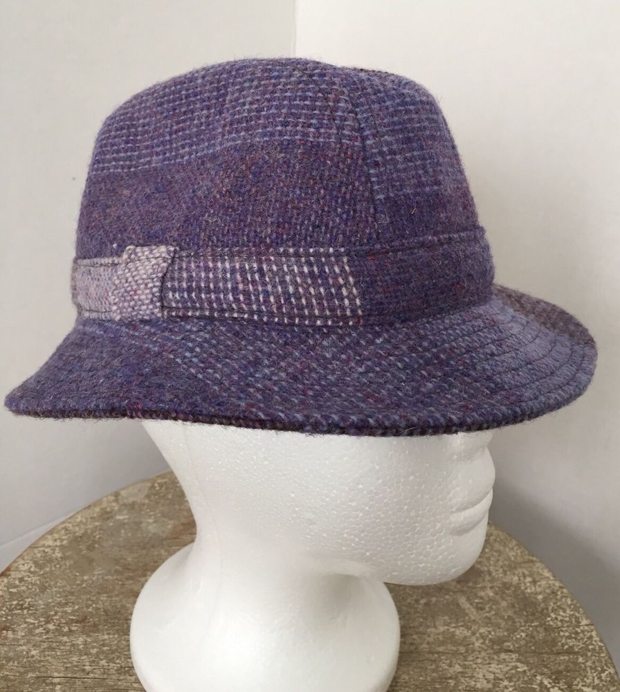 0a4a965e42a AVOCA COLLECTION IRELAND Womens Small Purple Lavender Wool Bucket Hat   fashion  clothing  shoes  accessories  womensaccessories  hats (ebay link)
