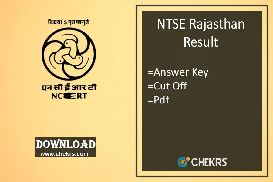 Ntse rajasthan result 2018 download now question paper and school ntse rajasthan result 2017 5th nov answer key cut off marks question paper malvernweather Gallery