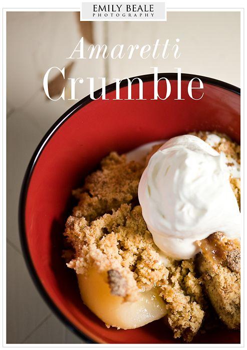 Amaretti Crumble » Emily Beale Photography
