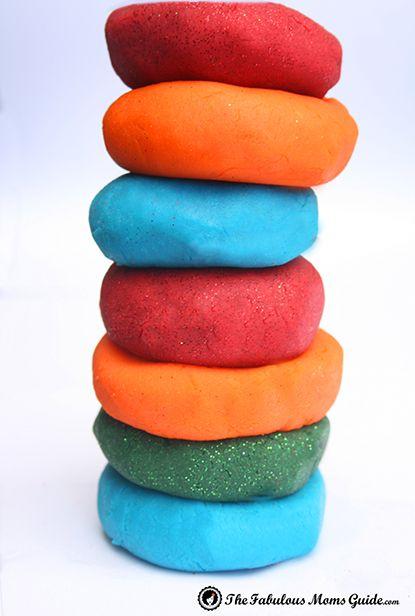 How To Make Play Dough Play Doh Playdough Playdough Recipe Play Doh