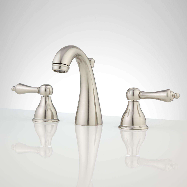 Lydia Widespread Bathroom Faucet Widespread Bathroom Faucet Bathroom Faucets Faucet [ 1500 x 1500 Pixel ]