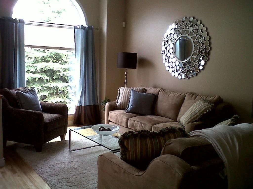 Best Simple Beige Brown And Blue Client Living Room Home 400 x 300