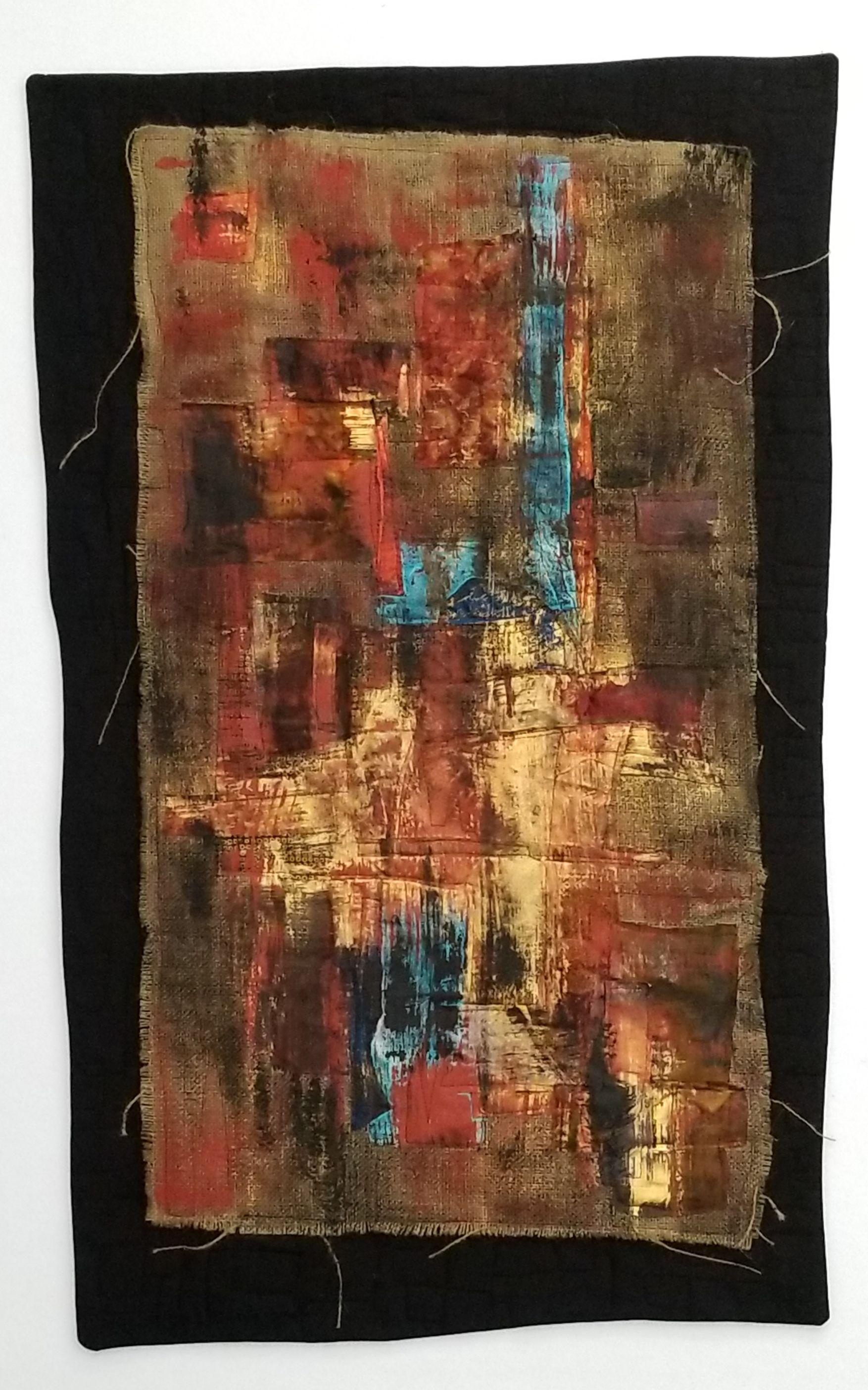Urban Decay Textile texture, Art quilts, Textile artists