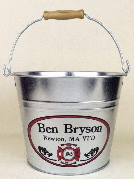 Custom Beer Bucket for Firefighters